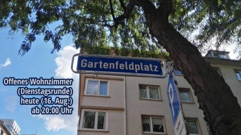 Dienstagsrunde auf dem Gartenfeldplatz