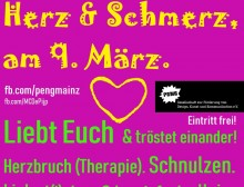 Leid & Liebe, Herz & Schmerz am 9. März
