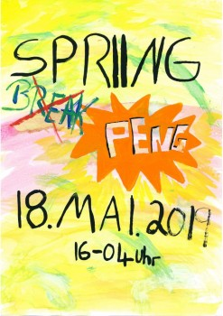 Spring Peng Flyer Cover
